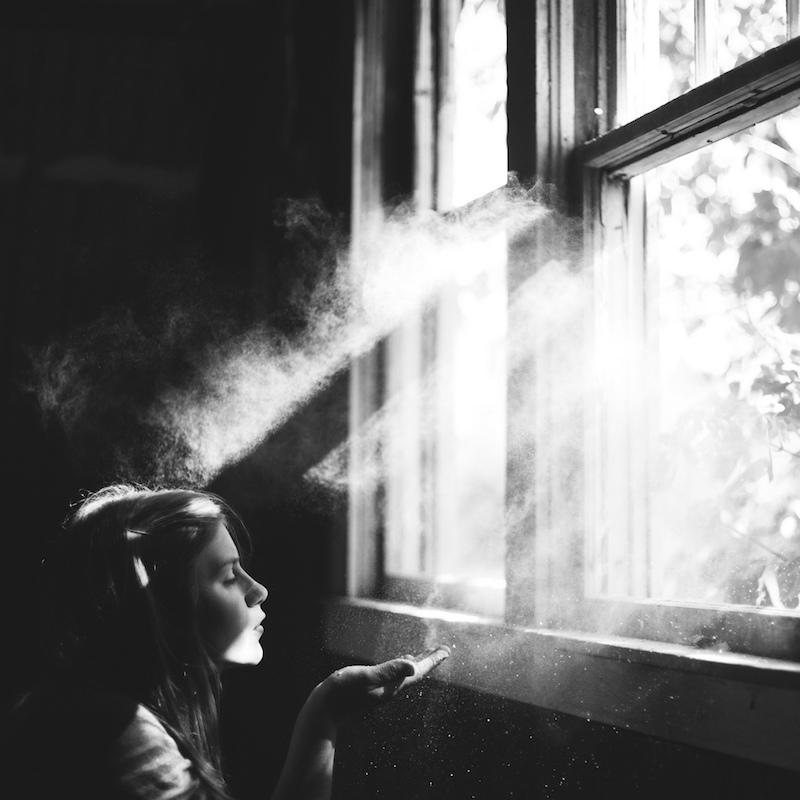 девочка солнечный свет волшебство