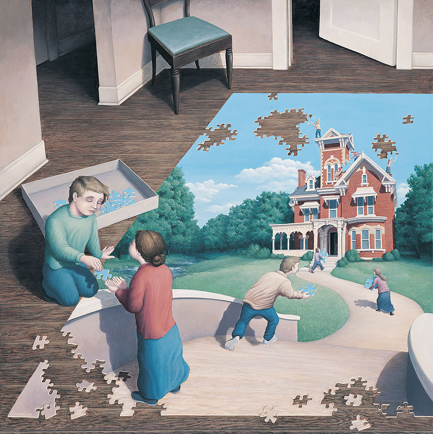 Магический реализм в картинах Роба Гонсалвеса