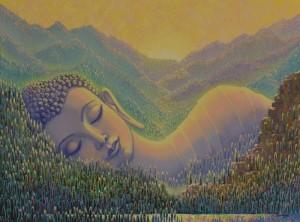 Спящий Будда