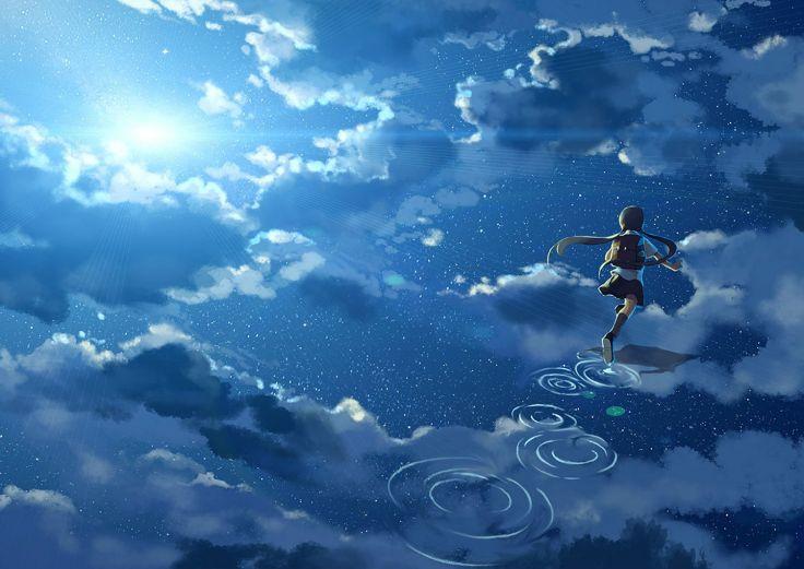 Бежать по облакам