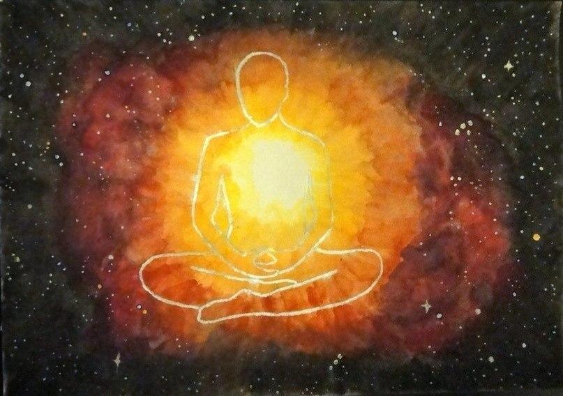 медитация, свет, сердце