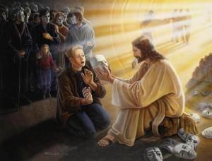 Иисус разрушает границы